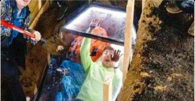 50 മണിക്കൂർ ഭൂമിക്കടിയിലെ ശവപ്പെട്ടിയിൽ, വൈറൽ വീഡിയോ കാണാം
