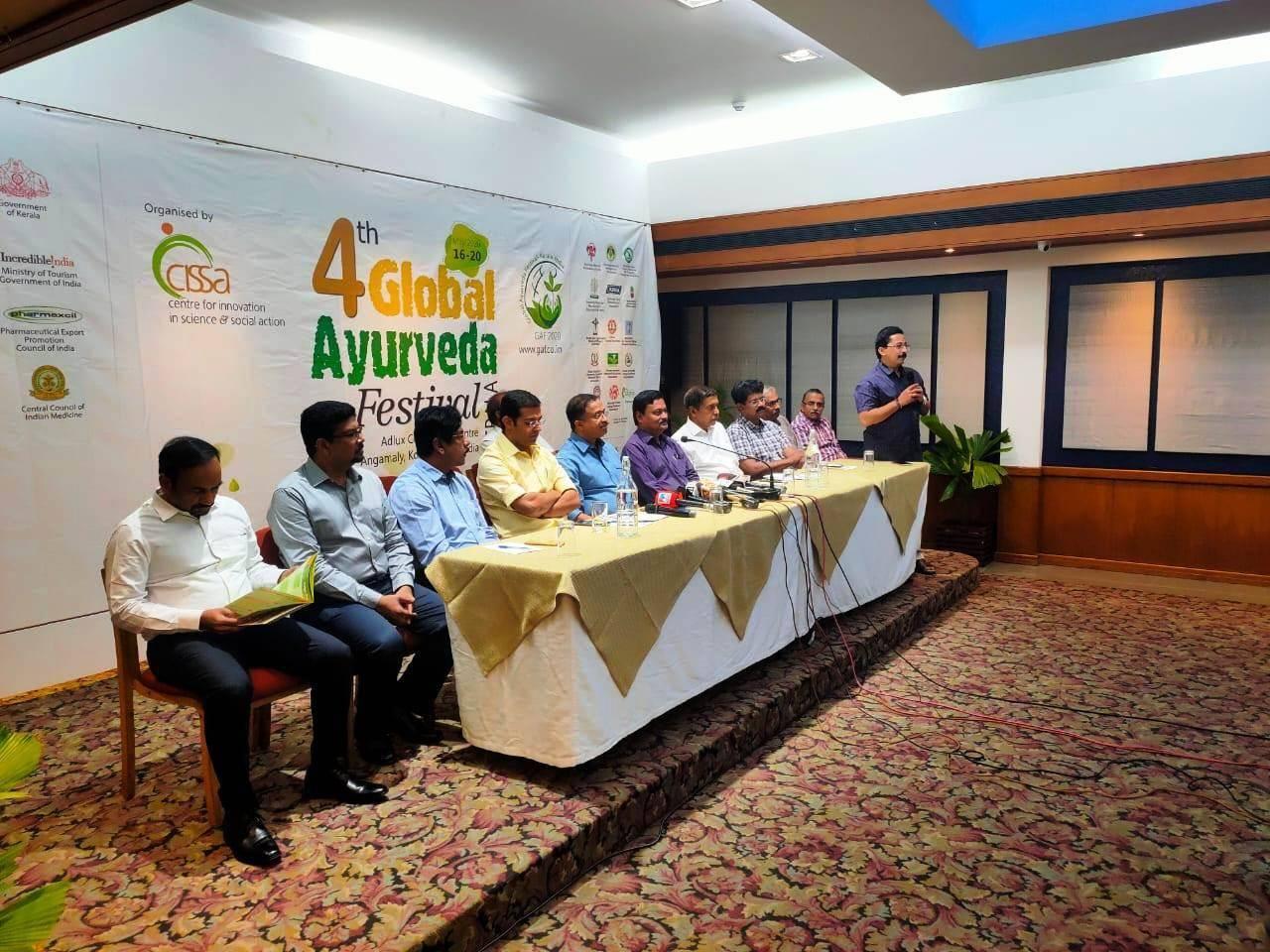 ആഗോള വിപണിയും ഗവേഷണവും മെഡിക്കൽ ടൂറിസവും ലക്ഷ്യമിട്ട് ഗ്ലോബൽ ആയുർവേദ ഫെസ്റ്റിവൽ 2020