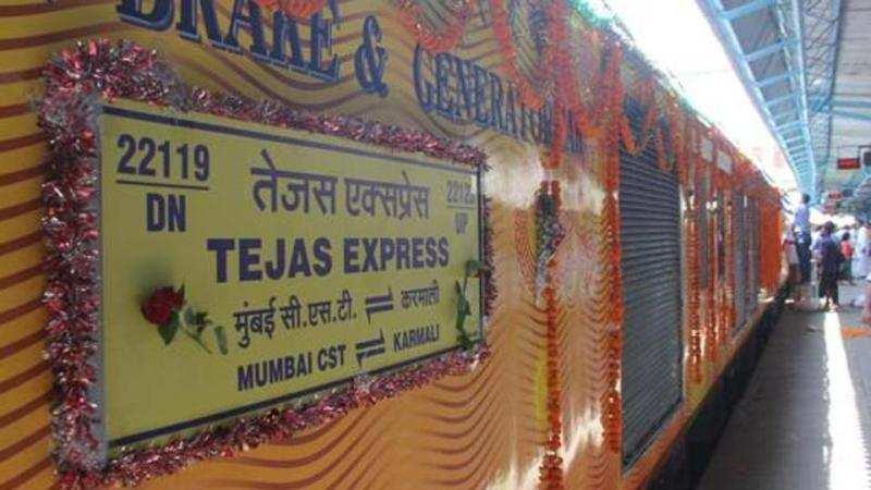 ഡൽഹി – ലക്നൗ റൂട്ടിലെ തേജസ് എക്സ്പ്രസ് ഇന്ത്യൻ റെയിൽവേയിലെ ആദ്യ 'പ്രൈവറ്റ്' ട്രെയിൻ ആവും