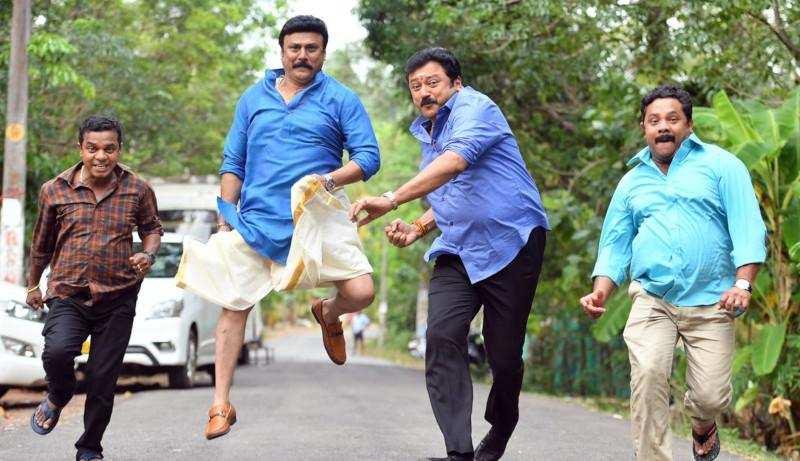 ജയറാം ചിത്രം പട്ടാഭിരാമന്: ഷൂട്ടിങ് അവസാന ഘട്ടത്തിൽ